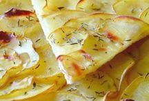 tarte fine aux pommes de terre