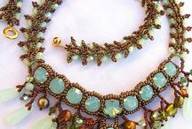 biżuteria / stara, stylowa biżuteria, biżuteria z koralików