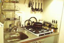 狭い キッチン