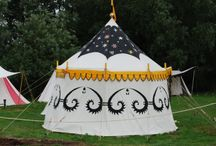 SCA Tents and camps