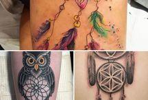 Tatuaje Dreamcatcher