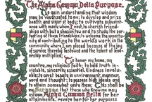 Pearls, Squirrels, and Alpha Gam girls! / by Cassandra Poling