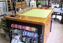 Craft room ideas / by Cheri Jozwiak