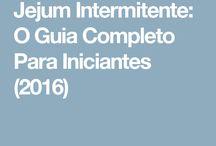 Jejum intermitente/ Low Carb