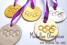 manualidades, actividades y experimentos olimpicos