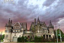 Michigan Castles / Buildings in Michigan that look like castles