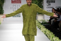 "Ashima - Leena / Collection of ensembles presented by Ashima - Leena at ""Wills Lifestyle India Fashion Week"" from 2009 onwards."