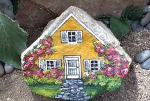 Kamení - tvoření, dekor