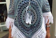 crochet Viki poncso