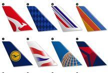 Logos Aerolineas vintage
