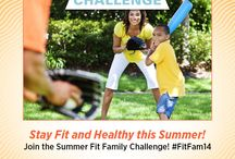 Summer Fit Family Challenge / by MoveForwardPT