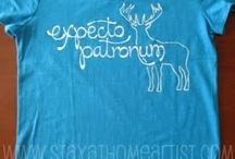 t-shirt design / T-shirt tutorials and logo examples.