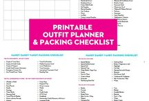 Packing Lists and Tips
