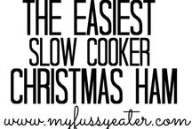 Christmas dinner recipes and table ideas
