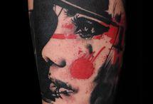 tattoo ideas for men /  my ideas of M tattoo