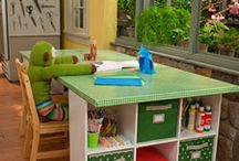 Kids Rooms (playroom or bedroom) / by Sheila Modine
