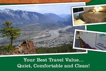 4 Pines Motel / Lillooet is just a four hr. scenic drive from Vancouver, north on the Sea to Sky Hwy, also known as Hwy 99. On your way enjoy the beauty of glacial mountain peaks, deep canyons and roadside wildlife. While staying with us enjoy the spectacular scenery around and clean, comfortable rooms. Our friendly staff will assist you in choosing the most appropriate accommodation for you. Pets permitted in designated areas only.