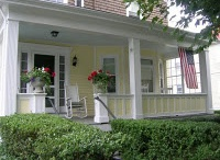 """Porches / I believe that """"porches"""" need their own category and that every home needs a porch.  That's my belief.  A front porch truly can make a house a home and turn neighbors into friends."""