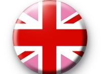 Union Jack Love Attack / Great graphic, great country, Great Britian / by Lisa2LDN ***