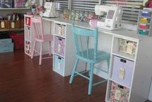 Sewing Room / Sewing and craft room ideas for the new home
