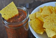 food : dips & sauces - savory
