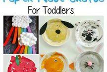 Toddler art and craft