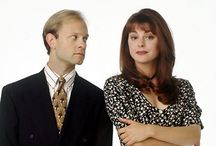 """Frasier: Niles & Daphne / My favourite romance of all time. I want to be a """"Daphne"""" to a """"Niles"""""""