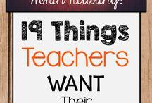 Being a Teacher / Education Ideas