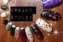 Freaky Styley Indie Nail Polish / Uk Indie Nail Polish Creations
