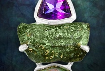 Unique Jewelry / interesting jewelry with silver, gemstones.