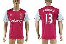 Billig West Ham United trøje / Køb West Ham United trøje 2016/17 online,billige West Ham United tøj,West Ham United hjemmebanetrøje/udebanetrøje/3 trøje/målmandstrøje/langærmet fodboldtrøjer 16/17 tilbud med din egen u