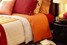 The Colors of Autumn / The rich reds, yellows and browns of fall - all in your home.