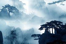 Huangshan Mountains - 黄山 - 황산