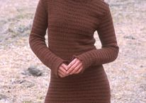 crochet jumper dress