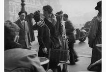 La Carolina-Paris / Tableau avec des photos prises par les apprenants de niveau intermédiaire à la manière de Brassaï, Cartier-Bresson et Doisneau