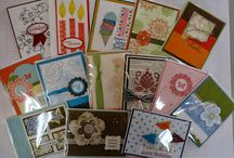Stampin' Up! - My fundraising projects / Samples and pictures of fundraisers sponsored by Stampin with Christine