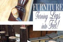 furniture refinishing/flipping