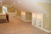 Ideas for the attic rooms