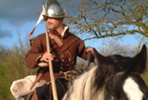 """Scottish/Anglo Border Reivers / When people think of Scotland, they think of the Highland Scots, but there were also the Great Riding Families of the Anglo/Scottish Borders - on both sides.  Part of a unique criminal society born out of adversity, they spent their lives on horseback and lived by plunder.  They lived for, fought for & were loyal only to their surname.  Many of these riding clans were forcibly broken up after the Union of the Crowns with James VI & I's """"Pacification of the Borders.""""   / by Patti Elliott Di Loreto"""