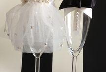 Bloemen knutselen / Bruiloft