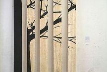 рисунок на деревянные вставки