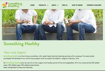 Digital Portfolio / something-healthy.com, @neuroticina, @jbftrio