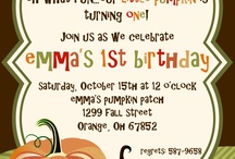 Pumpkin Patch Party / by Party Styles