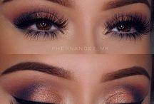Pretty Purple Make up ❣️