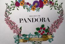 The Story of Pandora Coloring Book