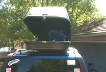 Organization - Road Trip/Travel Life / See how car top carriers can make your travel life that much easier on the road!
