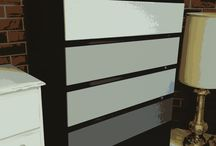 Fusion Mineral Painted Non-Shabby Chic / Non-Shabby Chic painted, re-styled furniture