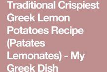 Recettes à la pomme de terre
