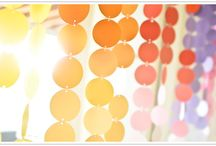 Party Decorations / Budget friendly party decorations with a big impact. / by Gaby