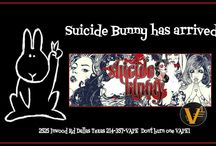 Suicide Bunny arrives to eca Vape 1 / Suicide Bunny arrives to eca Vape 1 !!! 2525 Inwood Road, Suite 125 Dallas, TX 75235 (electric cigarettes of America) We carry vaping devices, accessories, choose a premix vapor liquid or customize your own.  When:November 22, 2013 Time: 6pm-9pm